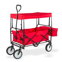 Ručný vozík so strieškou 100 kg