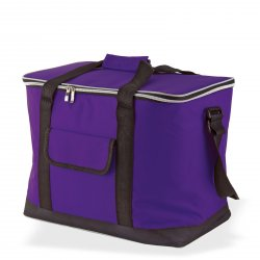 Taška chladiaca 32 l fialová