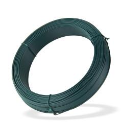 DEMA Viazací drôt poplastovaný 1,4 mm, dĺžka 100 m, zelený