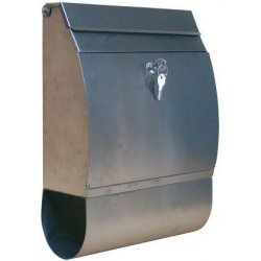 Oceľová poštová schránka