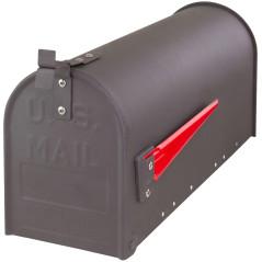 Poštová schránka americká sivá