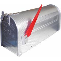 Poštová schránka americká strieborná