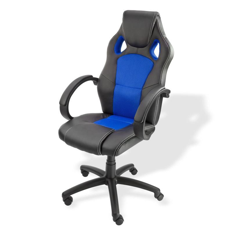 Stolička kancelárska Clermont, modrá