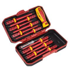 Skrutkovače elektrikárske 13-dielny set