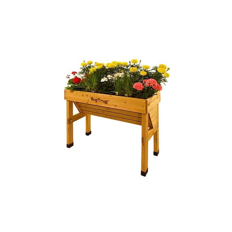 Kvetináč drevený Wall Hugger, malý