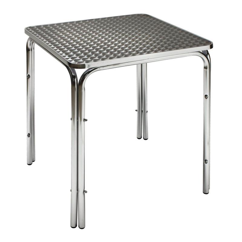DEMA Hliníkový záhradný stolík Twin 600