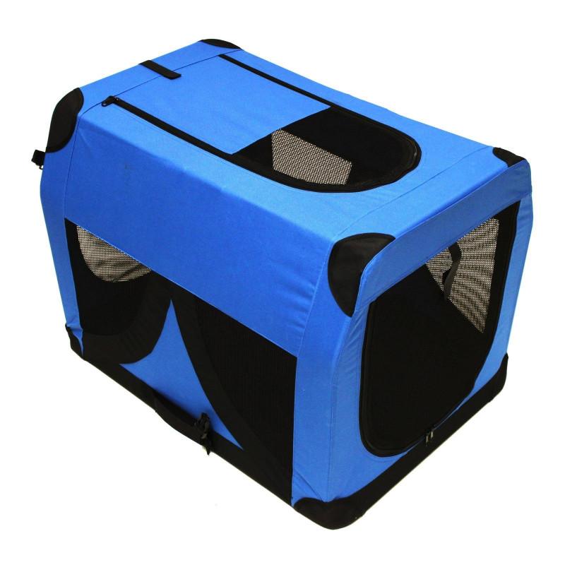 Box pre psa /mačku XL modrý 81,3 x 58,4 x 58,4 cm