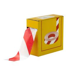 Páska výstražná 50 m červeno/biela