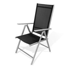 DEMA Skladacia stolička Rimini, čierna