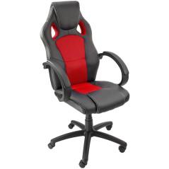 DEMA Kancelárska stolička Clermont, červená