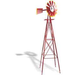 Veterný mlyn červený