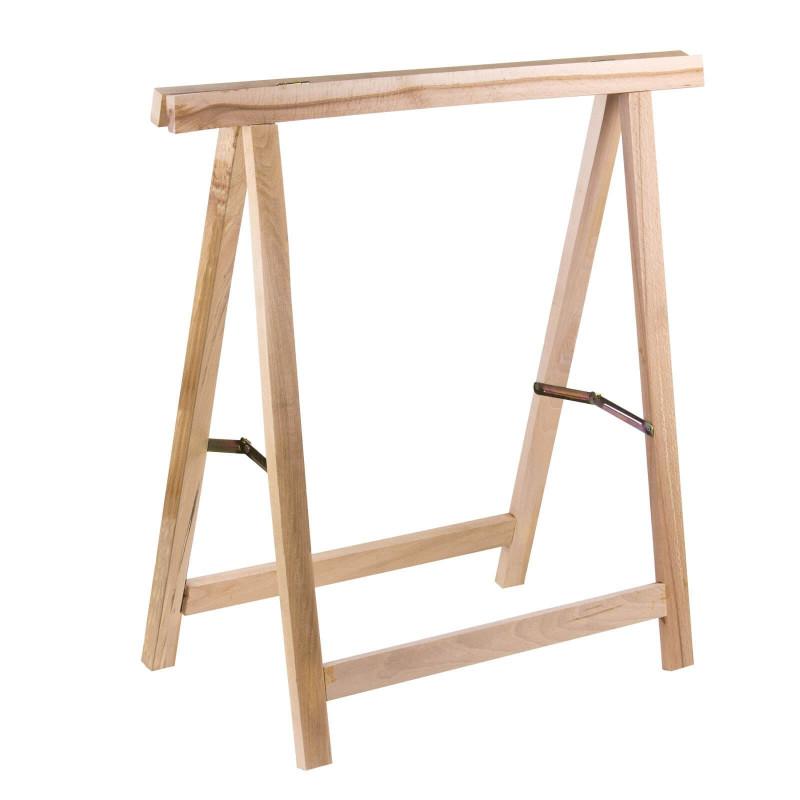 Stojan sklápací drevený