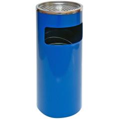 Popolník s košom 25x61 cm modrý