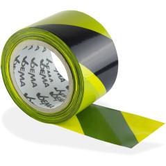 DEMA Výstražná páska 100 m, žlto-čierna