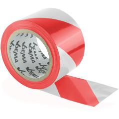 Výstražná páska červeno-biela