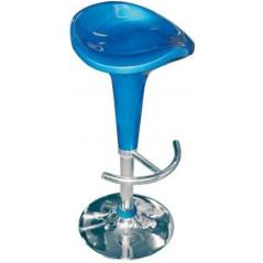 Barová stolička modrá