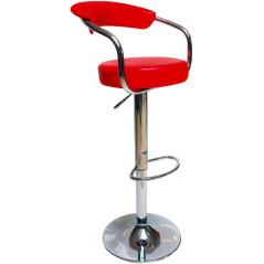 Barová stolička červená