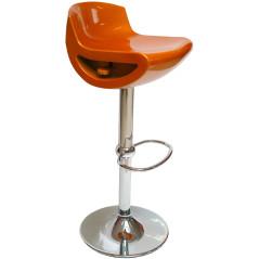 Barová stolička oranžová