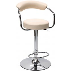 Barová stolička béžová