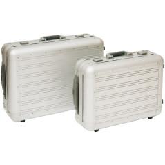 DEMA Sada hliníkových kufrov na kolieskach 2v1
