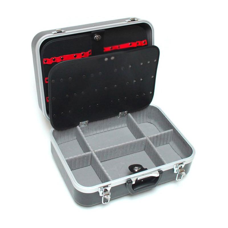 DEMA Pojazdný kufor na náradie ABS 6+, čierny
