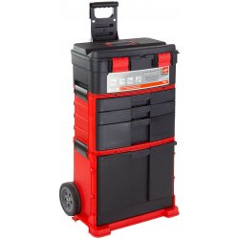 DEMA Rozkladací pojazdný box na náradie DWT3