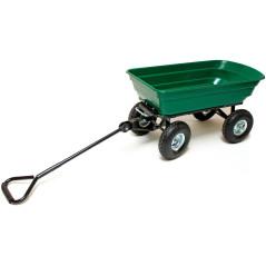 DEMA Ručný záhradný vozík výklopný 75 L
