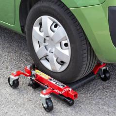 Pojazdný manipulačný vozík pre vozidlá