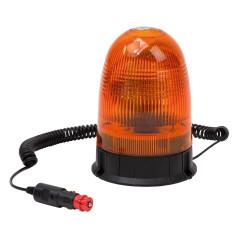 DEMA Výstražný maják s magnetom 12 V LED80, oranžový