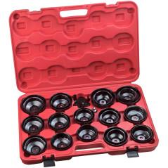 30-dielna sada kľúčov na olejové filtre