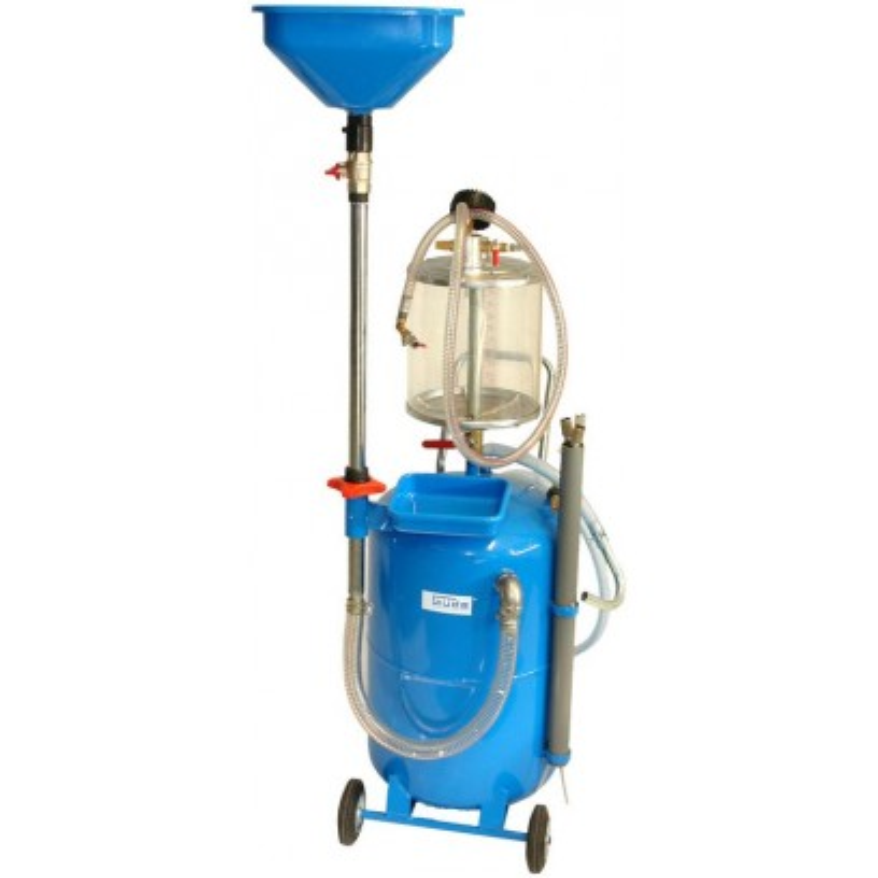 Zariadenie na odsávanie a vypúšťanie oleja GOA