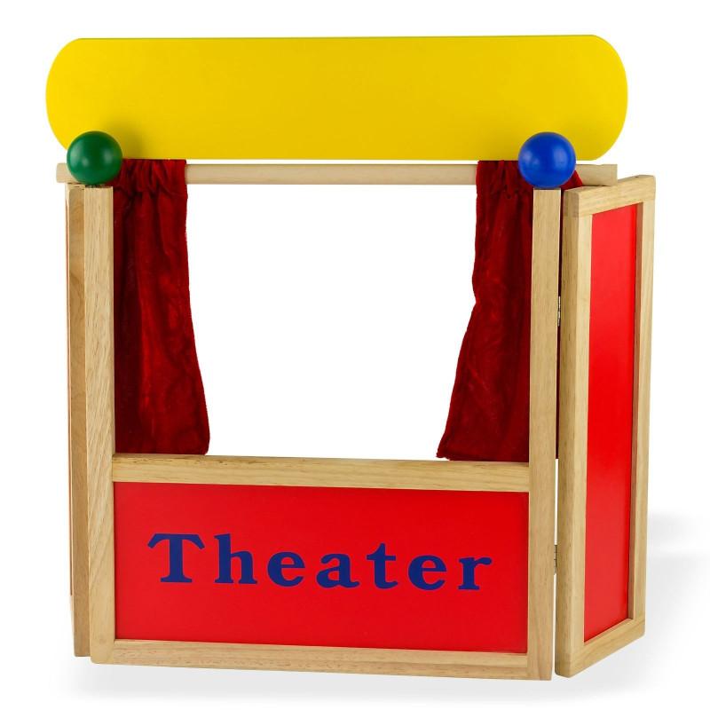 Divadlo bábkové - drevené