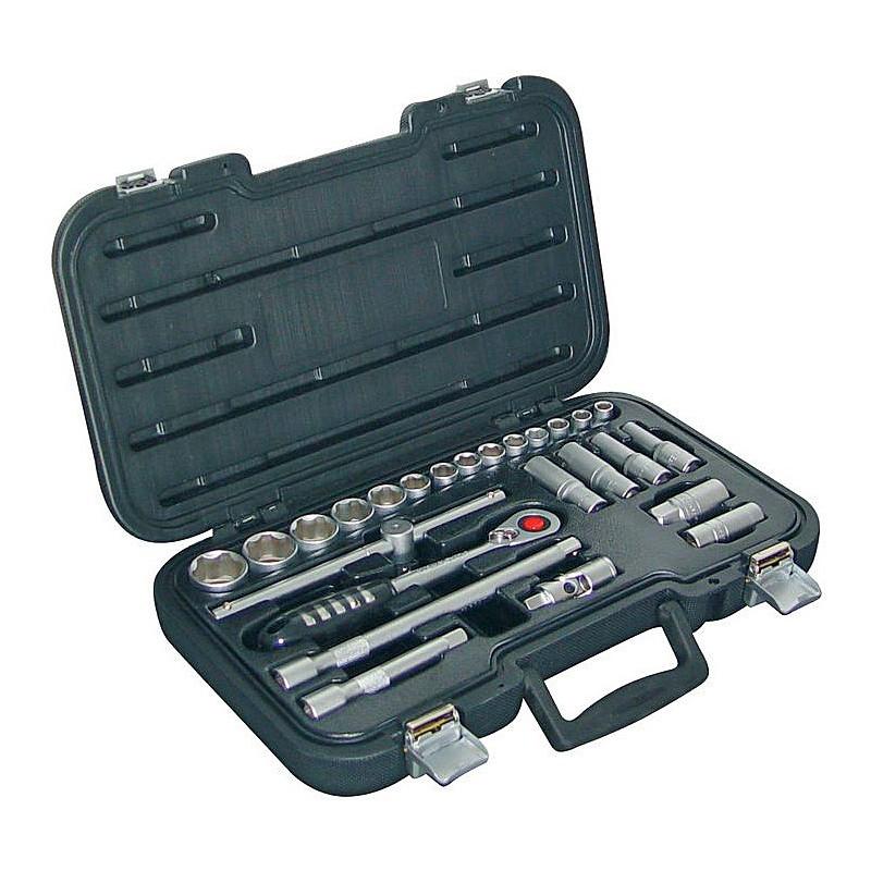 Sada nástrojových a nástrčkových kľúčov
