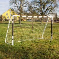 DEMA Futbalová brána so sieťou 300x90x160 cm Turin