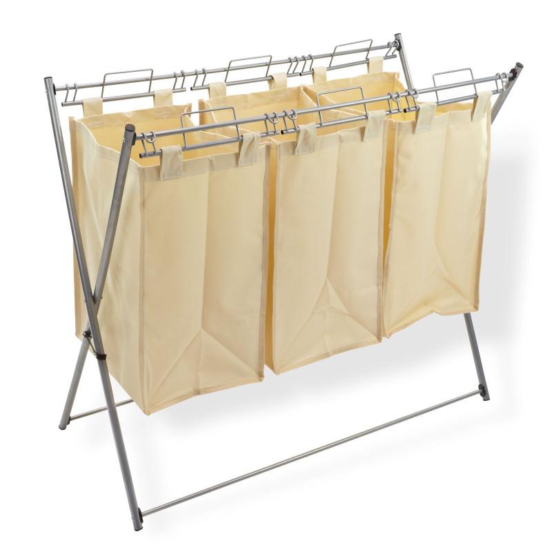 Triedič prádla kovový