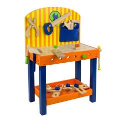 DEMA Detský drevený pracovný stôl Benji