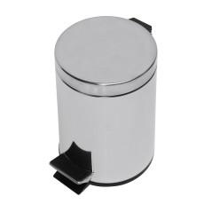 Kôš odpadkový z nerezovej ocele, 12 l