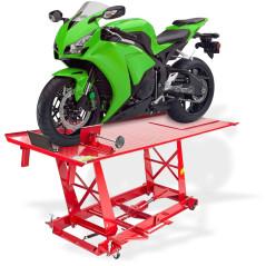Hydraulická zdvíhacia plošina na motocykle