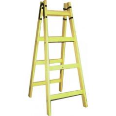 Rebrík drevený dvojitý maliarsky 7-priečkový