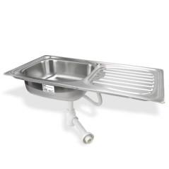 Kuchynský drez ľavý
