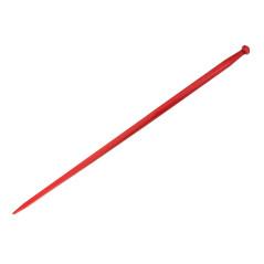Hrot predný nakladací 28x1,5/1400 mm, červený