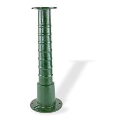 DEMA Stojan na záhradnú ručnú pumpu Klassik, zelený