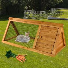 Klietka pre zajace s výbehom