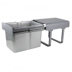 DEMA Výsuvný odpadkový kôš 34 L