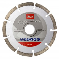 Diamantový rezný kotúč segmentovaný 125 mm DEMA DDT125S