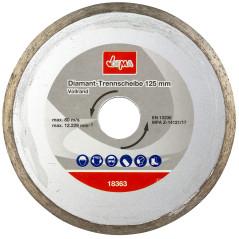 DEMA Diamantový rezný kotúč 125 mm DDT125V