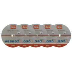 DEMA Rezný kotúč na kov 230x1,9x22,2 mm, 5 ks