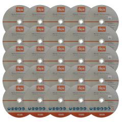 DEMA Rezný kotúč na kov 230x1,9x22,2 mm, 25 ks