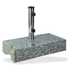 DEMA Stojan na slnečník 25 kg Granit