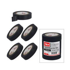 Izolačná páska 15 mmx10 m, 5ks, čierna